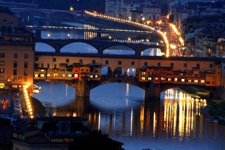 Ponte Vecchio, Florence,Tuscany, Italy