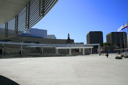 Modern office buildings in downtown San Jose,CA