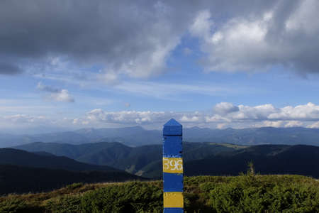 Border poles of Ukraine
