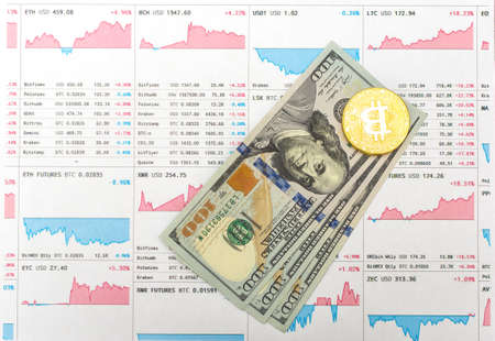 chart growth rate bitcoin and real money