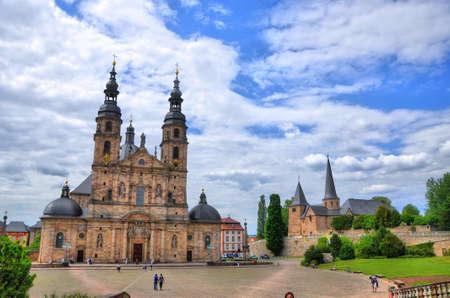 Fuldaer Dom in Fulda, Hessen, Deutschland