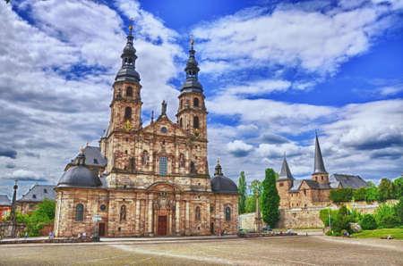 hessen: Fuldaer Dom  Cathedral  in Fulda, Hessen, Germany  HDR