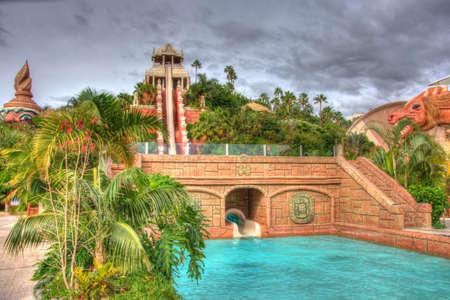 canarian: Water slide, Tenerife, Canarian Islands