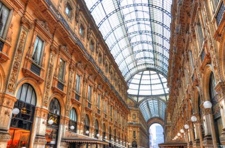 Vittorio Emanuele gallery, Venice, Italy (HDR)