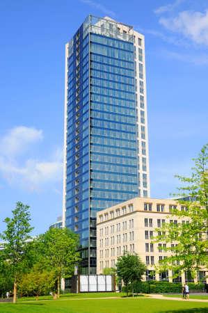hessen: Skyscraper, Frankfurt am Main, Hessen, Germany