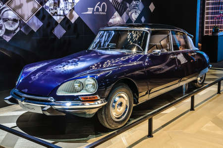 pallas: FRANKFURT - SEPT 2015: Citroen DS 21 Pallas 1971 presented at IAA International Motor Show on September 20, 2015 in Frankfurt, Germany