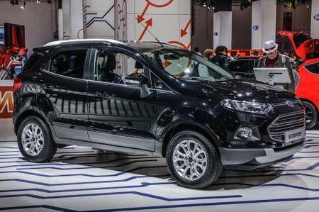 iaa: FRANKFURT - SEPT 2015: Ford Ecosport presented at IAA International Motor Show on September 20, 2015 in Frankfurt, Germany