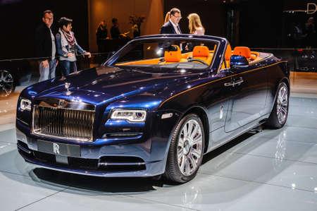 phantom: FRANKFURT - SEPT 2015: Rolls-Royce Phantom Coupe presented at IAA International Motor Show on September 20, 2015 in Frankfurt, Germany