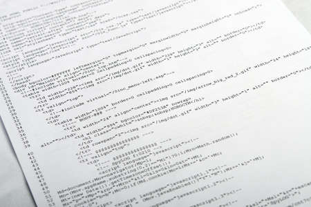 abound: Photo of document with web code