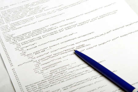 to encode: Photo of document with web code