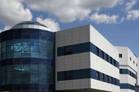 edificio industrial: Una foto de la moderna arquitectura industrial
