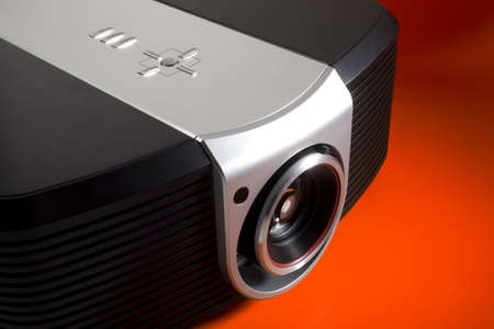a photo of home cinema projector photo