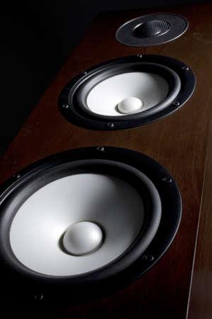 resonate: a photo of black speaker