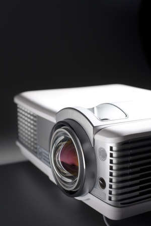 projector: a photo of home cinema projector with space for your text Stock Photo
