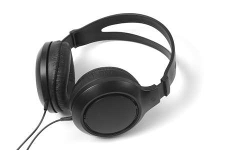 black headphones  Stock Photo - 12838518