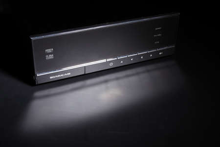 s video: a photo of HD media player over black
