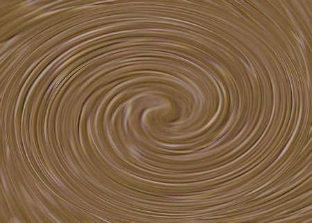 Chocolate Swirls in thick circle Reklamní fotografie - 249056