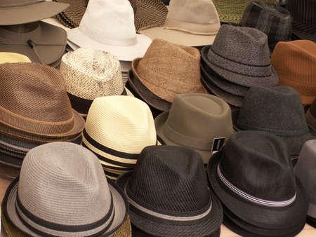 Mens Hats Reklamní fotografie - 7648411