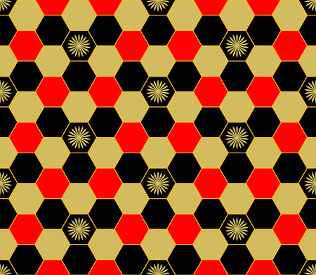 Football and soccer pattern. Vector seamless patterns can be used for wallpaper pattern fills and background. Vector