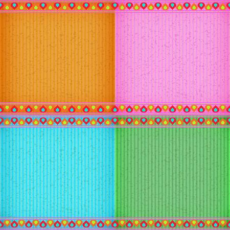 congratulate: Colorful lotus card board texture for note or congratulate.