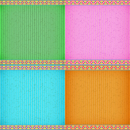 congratulate: Colorful water lily card board texture for note or congratulate.