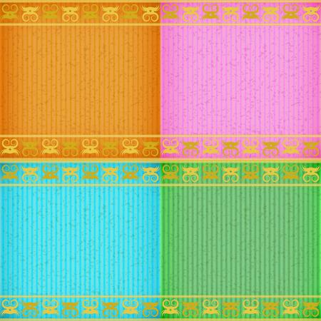congratulate: Gold crab card board texture for note or congratulate.