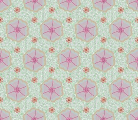 Pink flower and ivy is seamless patterns can be used for wallpaper pink flower and ivy is seamless patterns can be used for wallpaper pattern fills and background mightylinksfo