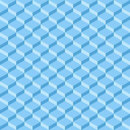 Abstract light blue diamond geometrical background texture vector illustration.