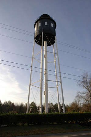 wody wieży: Cape Charles Water Tower Zdjęcie Seryjne