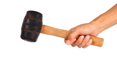 rubber hammer Stock Photo - 23322543