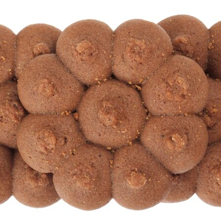 cookie sweets on white background photo