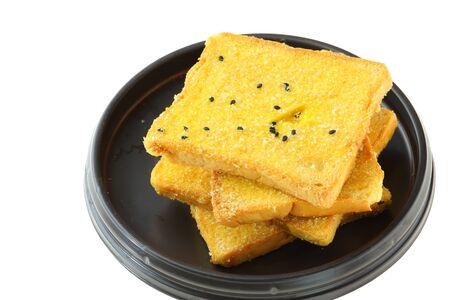 bread on white background Stock Photo - 15965277