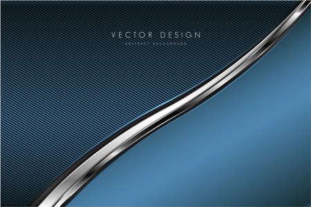 Metallic background.Luxury of blue.Modern design.