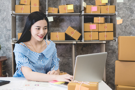 Calculating the cost of postage of a small package, Small business enterprise concerns for online Shopping