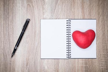 Handwritten love letters and notes Zdjęcie Seryjne