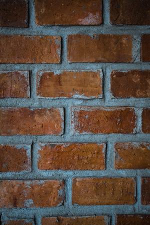 Old brick wall for background love texture  Zdjęcie Seryjne