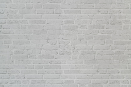 white wall brick background, house texture concept  Stock Photo