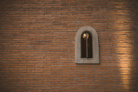 Old brick wall for background love texture Stock Photo