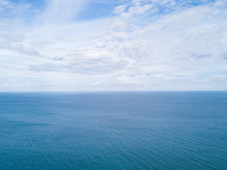 Clouds, sea and sky in bright days.