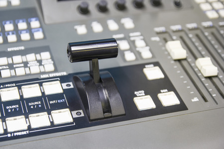 switcher: switcher controlling handle video of broadcast television