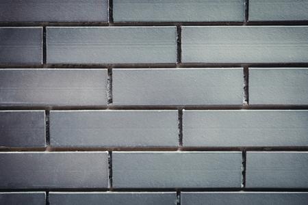 Grey brick wall background, texture 免版税图像