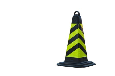Traffic cone isolated on white background Standard-Bild - 138145726