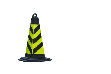 Traffic cone isolated on white background Standard-Bild - 138145727