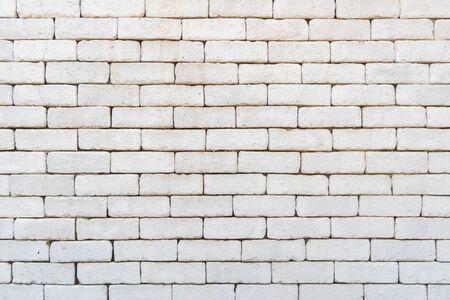 white brick texture pattern background. Standard-Bild - 135232811