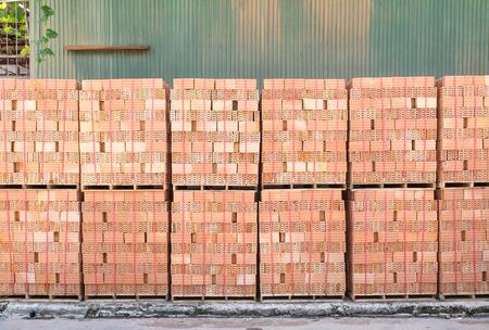 with brick: brick