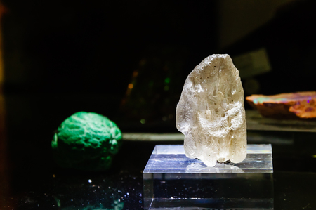scapolite: This is a White Scapolite. Its a uncut gemstone.