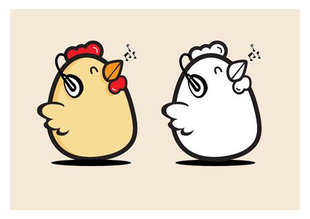 birth music egg chicken