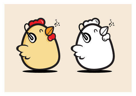 original single: birth music egg chicken