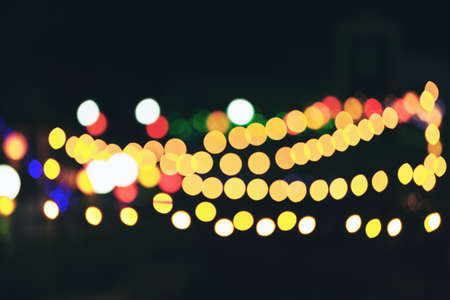 efectos especiales: Photo of bokeh lights blur light bokeh abstrac background in vintage concept