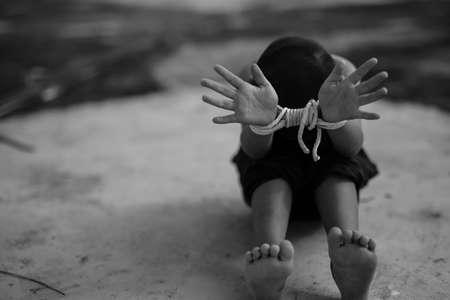 Human trafficking ,Stop abusing violence.